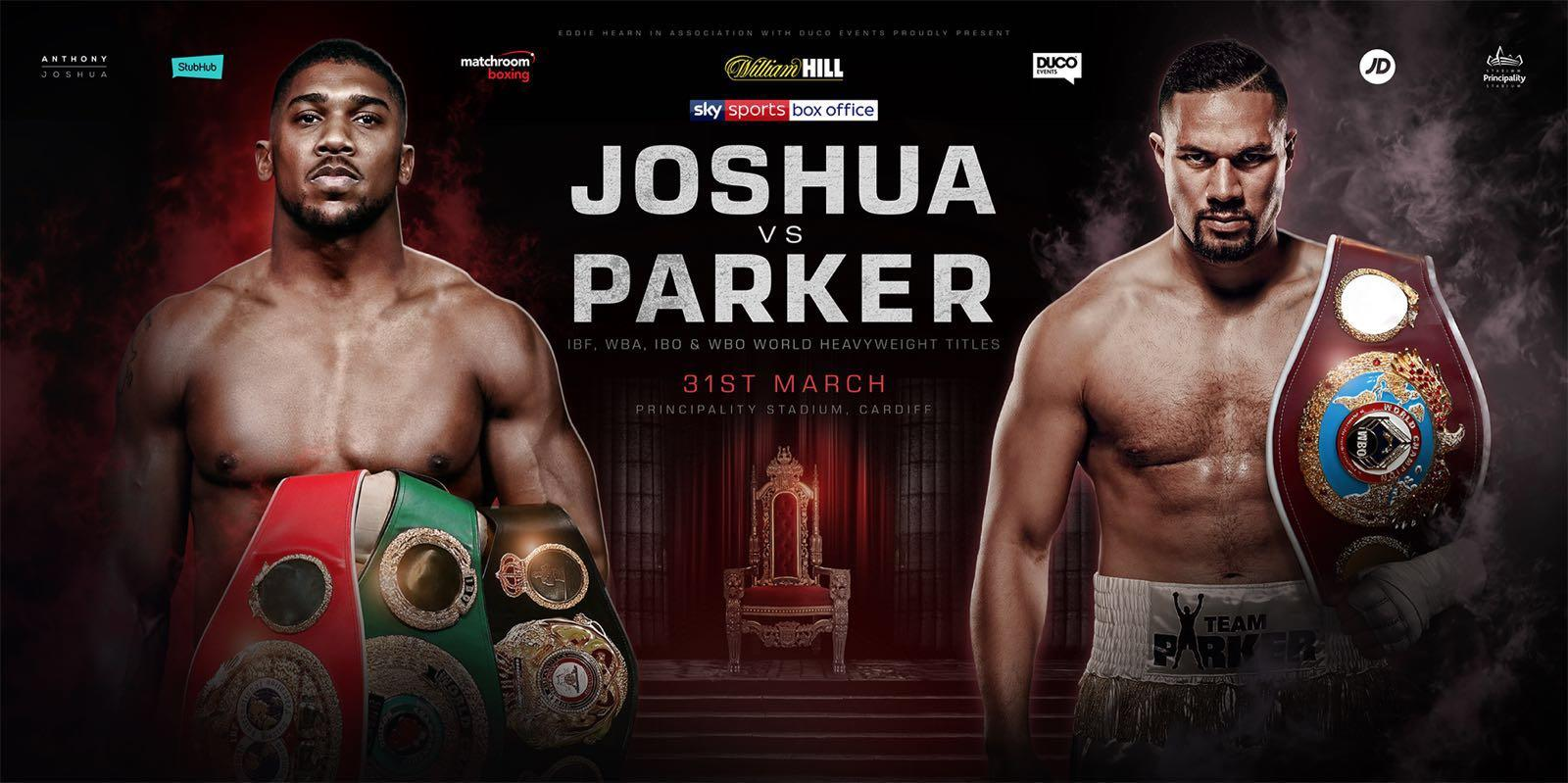 Participant co uk - Watch Joshua vs Parker Fight Live Free Streaming